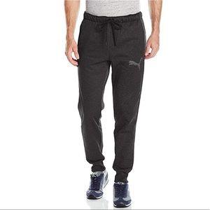 Men's Puma fleece pants with draw string & pockets